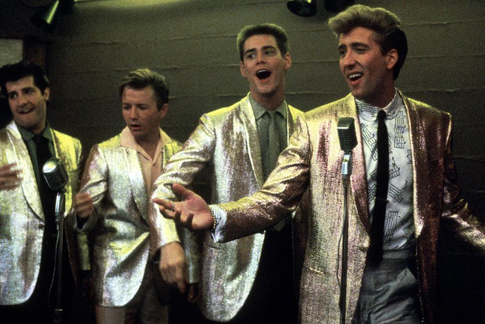 Peggy Sue - Seu Passado a Espera : Foto Jim Carrey, Nicolas Cage, Wil Shriner