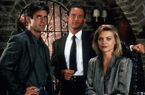 Conspiração Tequila : Foto Kurt Russell, Mel Gibson, Michelle Pfeiffer, Robert Towne