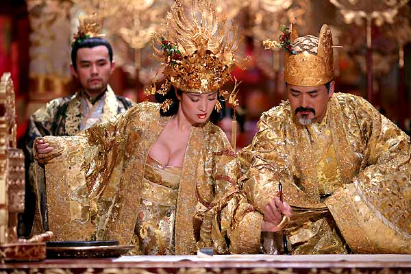A Maldição da Flor Dourada : Foto Chow Yun-Fat, Gong Li
