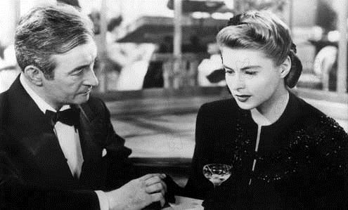 Interlúdio : Foto Claude Rains, Ingrid Bergman