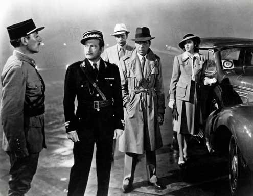 Casablanca: Ingrid Bergman, Michael Curtiz, Claude Rains, Paul Henreid, Humphrey Bogart