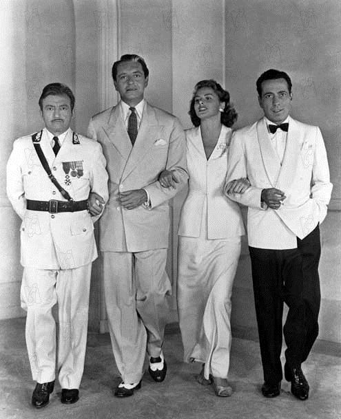 Casablanca: Ingrid Bergman, Michael Curtiz, Claude Rains, Paul Henreid
