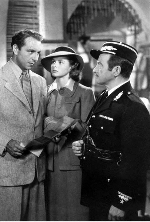 Casablanca: Ingrid Bergman, Michael Curtiz, Claude Rains, Paul Henreid