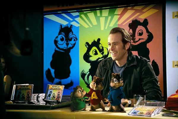 Alvin e os Esquilos : Foto Jason Lee, Tim Hill