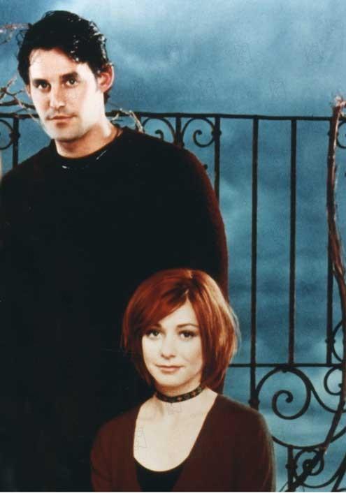 Buffy, a Caça-Vampiros : Foto Alyson Hannigan, Nicholas Brendon