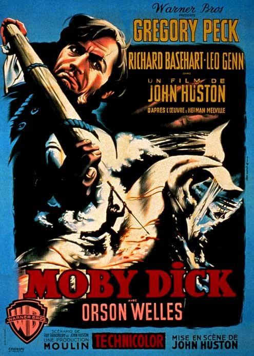 Moby Dick: John Huston