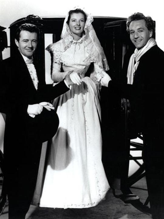 Sonata de Amor : Foto Clarence Brown, Katharine Hepburn, Robert Walker