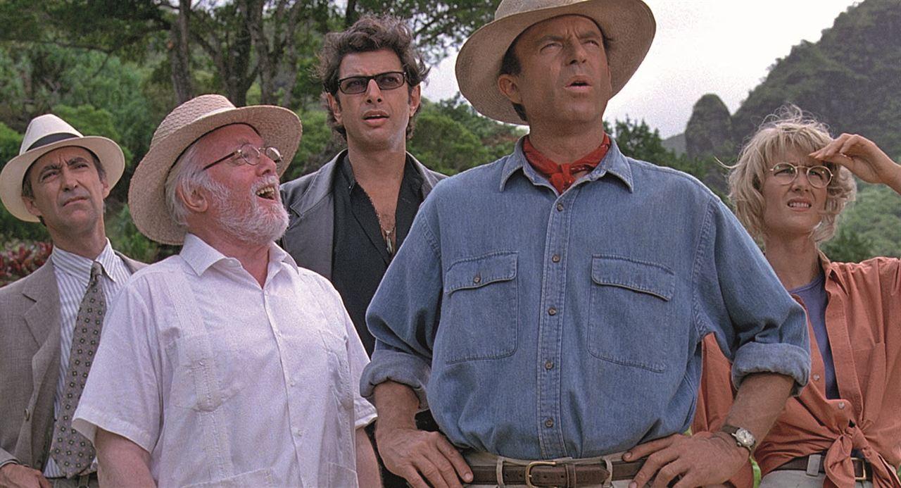 Jurassic Park - Parque dos Dinossauros : Foto Jeff Goldblum, Laura Dern, Richard Attenborough, Sam Neill