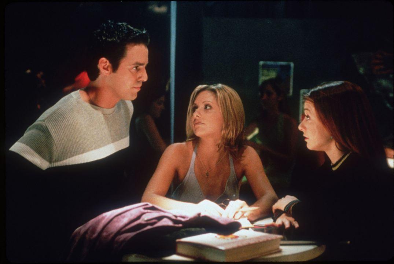 Buffy, a Caça-Vampiros : Foto Alyson Hannigan, Nicholas Brendon, Sarah Michelle Gellar
