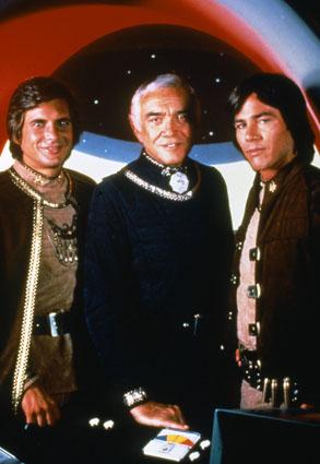 Battlestar Galactica - 1978 : Foto Dirk Benedict, Lorne Greene, Richard Hatch