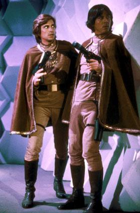 Battlestar Galactica - 1978 : Foto Dirk Benedict, Richard Hatch