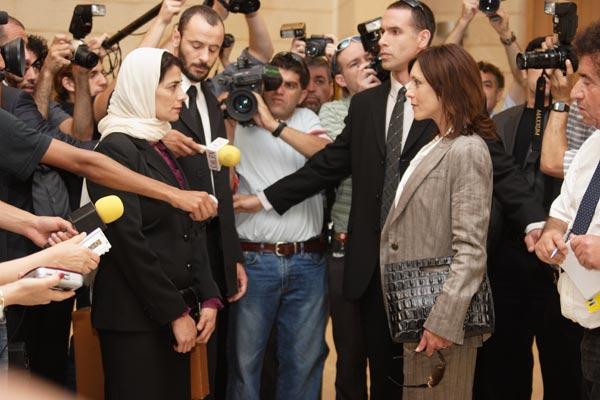 Etz Limon : Foto Ali Suliman, Eran Riklis, Hiam Abbass, Rona Lipaz Michael