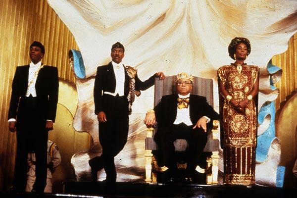 Um Príncipe em Nova York : Foto Arsenio Hall, Eddie Murphy, James Earl Jones