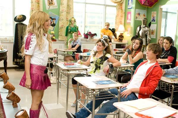 High School Musical 3 - Ano da Formatura : Foto Ashley Tisdale, Kenny Ortega, Zac Efron