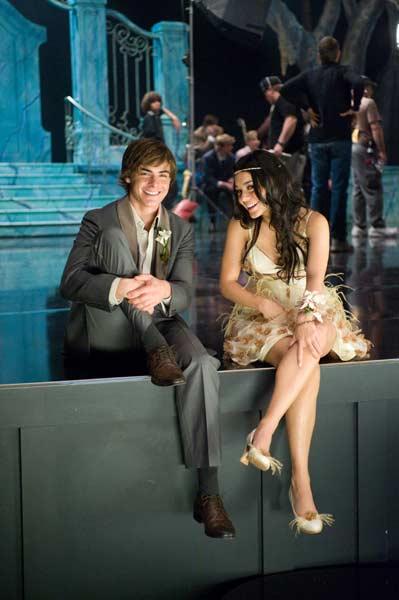 High School Musical 3 - Ano da Formatura : Foto Kenny Ortega, Vanessa Hudgens, Zac Efron