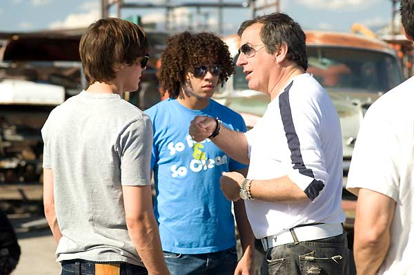 High School Musical 3 - Ano da Formatura : Foto Corbin Bleu, Kenny Ortega, Zac Efron