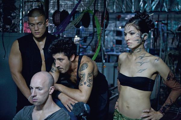 13° Distrito - Ultimato : Foto Cyril Raffaelli, David Belle, Élodie Yung, Patrick Alessandrin