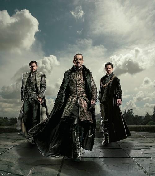 The Tudors : Foto Henry Cavill, James Frain, Jonathan Rhys-Meyers