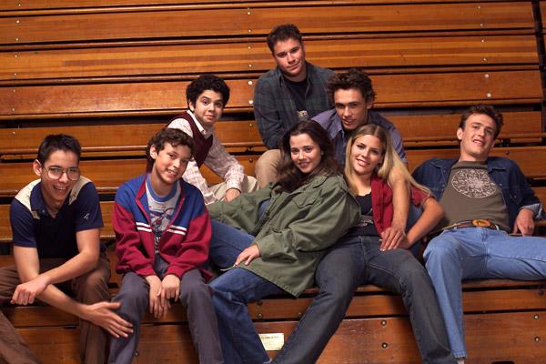 Freaks and Geeks : Foto Busy Philipps, James Franco, Jason Segel, John Francis Daley, Linda Cardellini