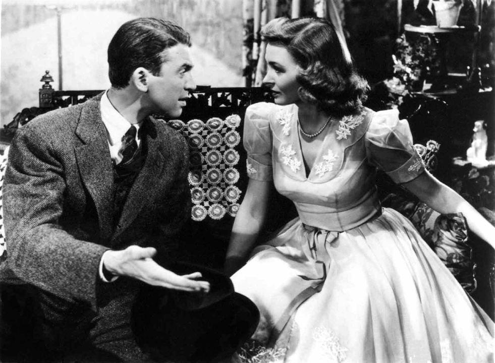 A Felicidade Não Se Compra : Foto Donna Reed, Frank Capra, James Stewart