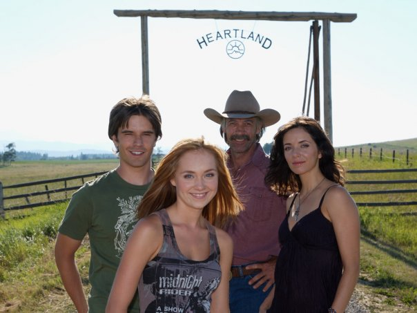 Heartland (CA) : Foto Amber Marshall, Graham Wardle, Michelle Morgan, Shaun Johnston