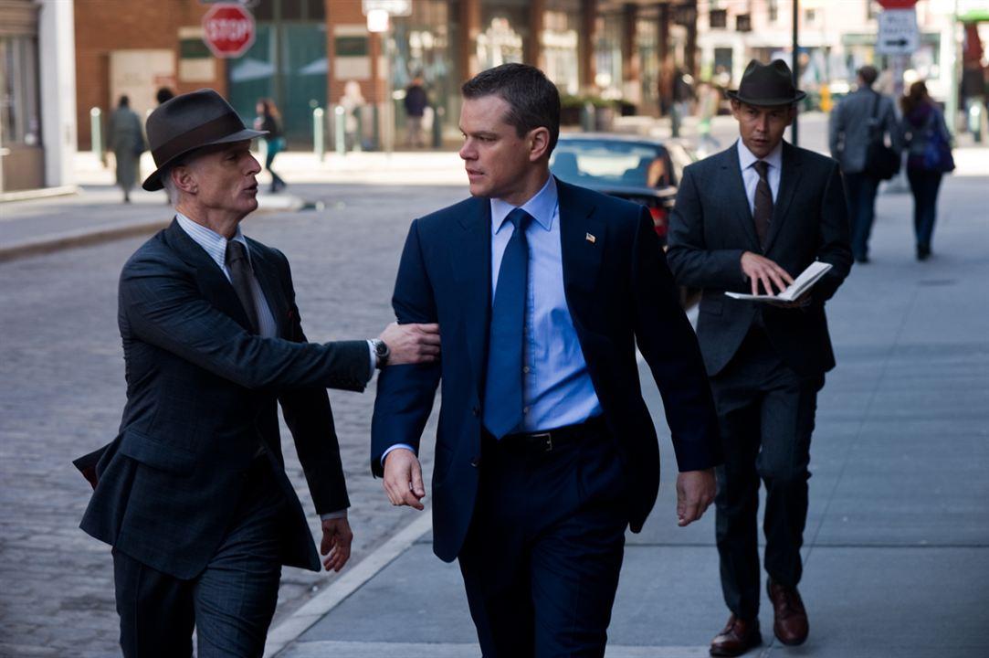 Os Agentes do Destino : Foto George Nolfi, John Slattery, Matt Damon