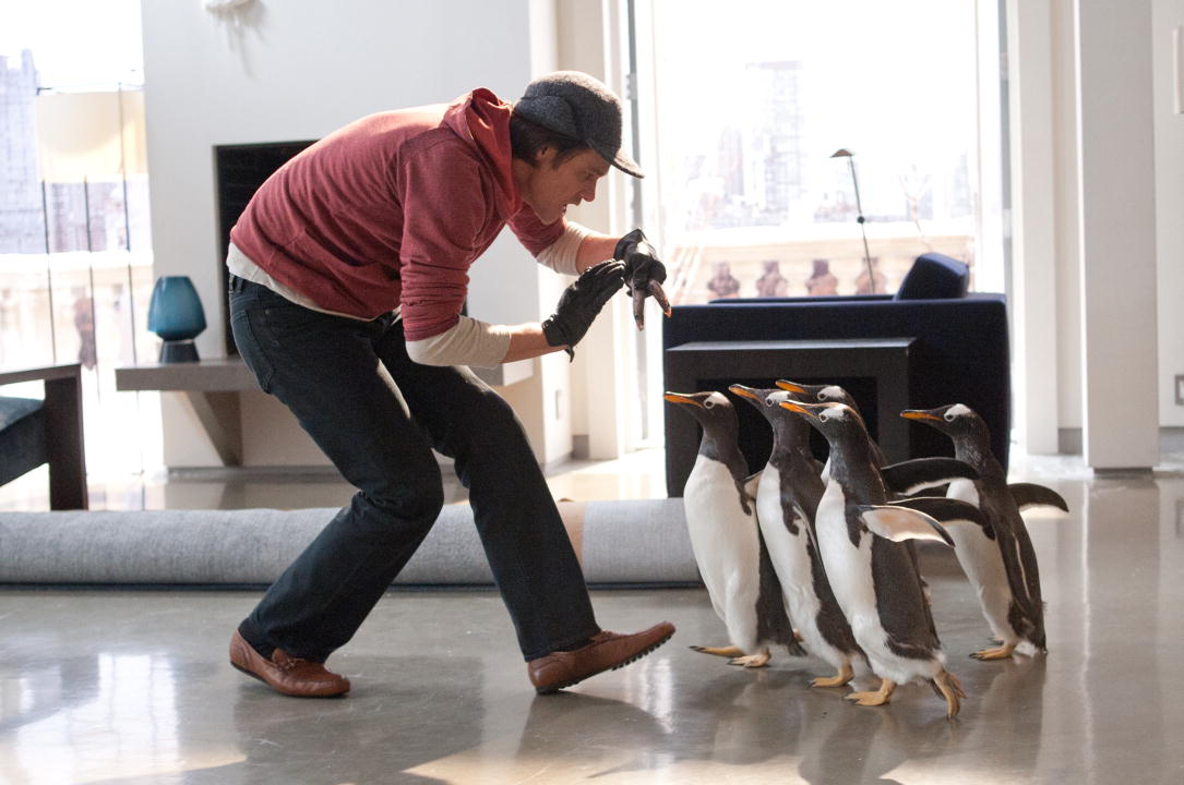 Os Pinguins do Papai : Foto Jim Carrey, Mark Waters