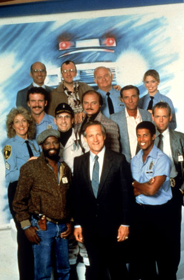 Hill Street Blues : Foto Betty Thomas, Daniel J. Travanti, James Sikking, Joe Spano, Megan Gallagher