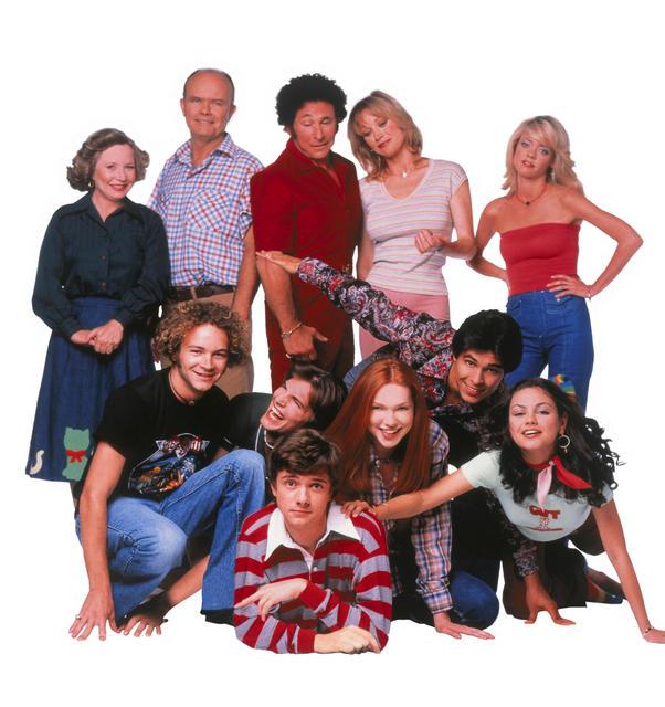 That '70s Show : Foto Ashton Kutcher, Danny Masterson, Debra Jo Rupp, Don Stark, Kurtwood Smith