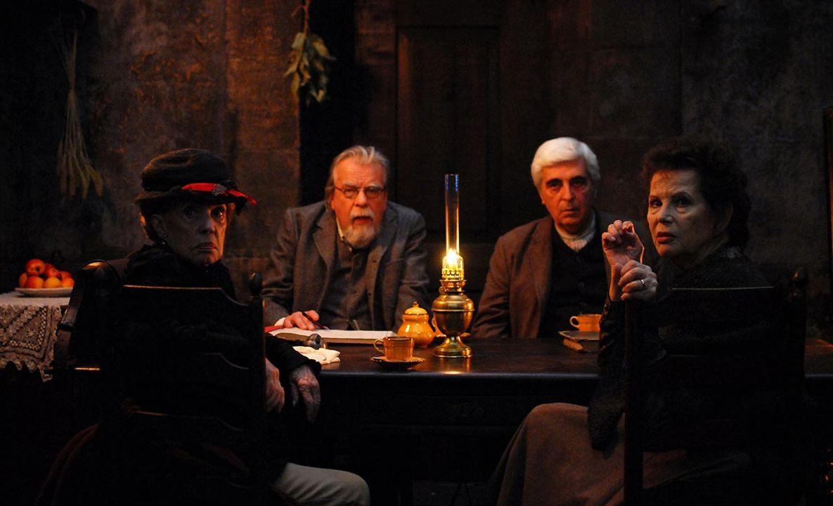 O Gebo e a Sombra : Foto Claudia Cardinale, Jeanne Moreau, Luís Miguel Cintra, Michael Lonsdale
