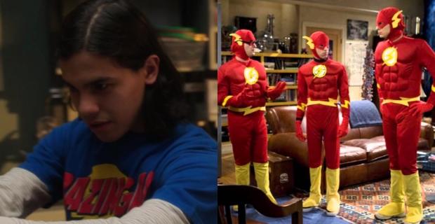 The Flash / The Big Bang Theory: Bazinga!