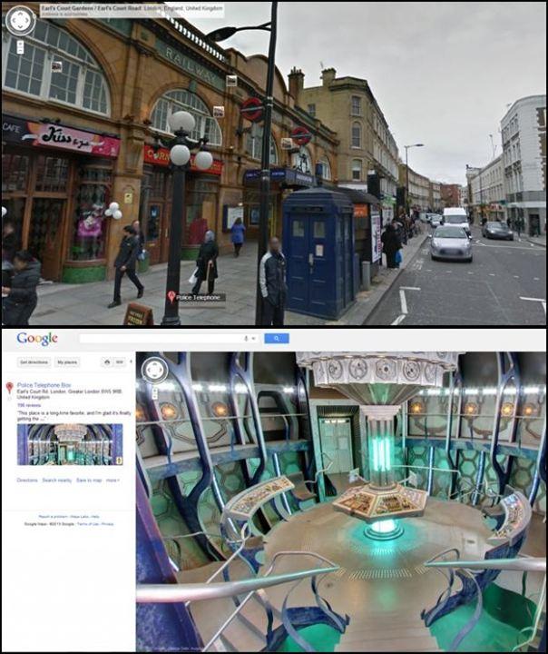 Doctor Who: TARDIS da vida real (ou quase)