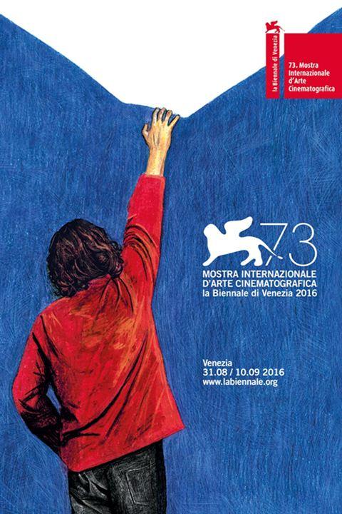 Pôster oficial do 73º Festival de Veneza