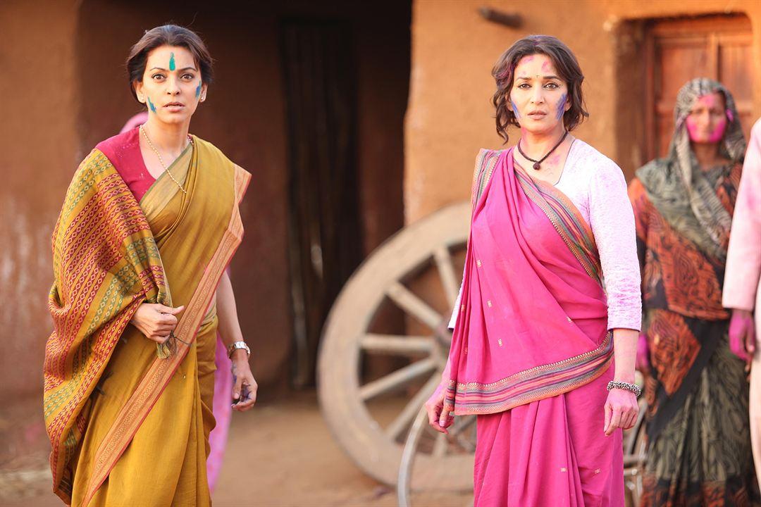 Foto Juhi Chawla, Madhuri Dixit