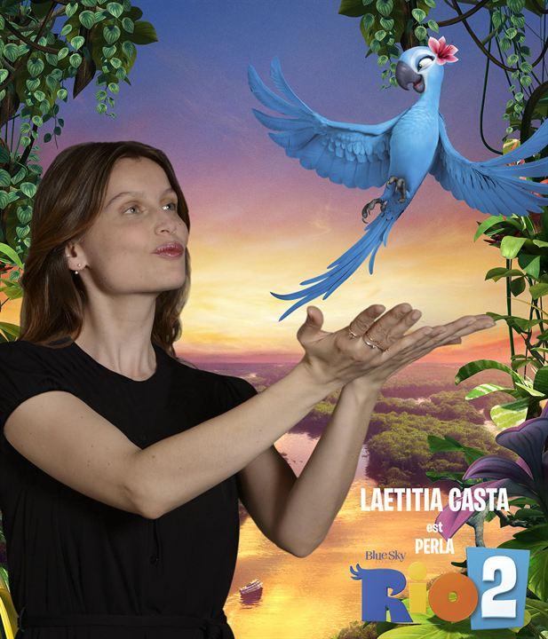 Rio 2: Laetitia Casta