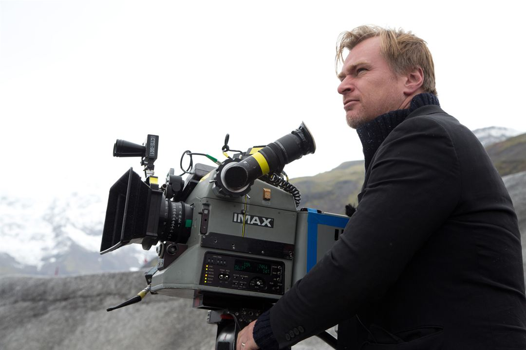 Interestelar : Foto Christopher Nolan