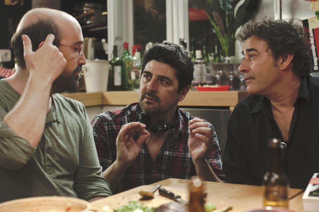 O Que os Homens Falam: Javier Cámara, Cesc Gay, Eduard Fernández