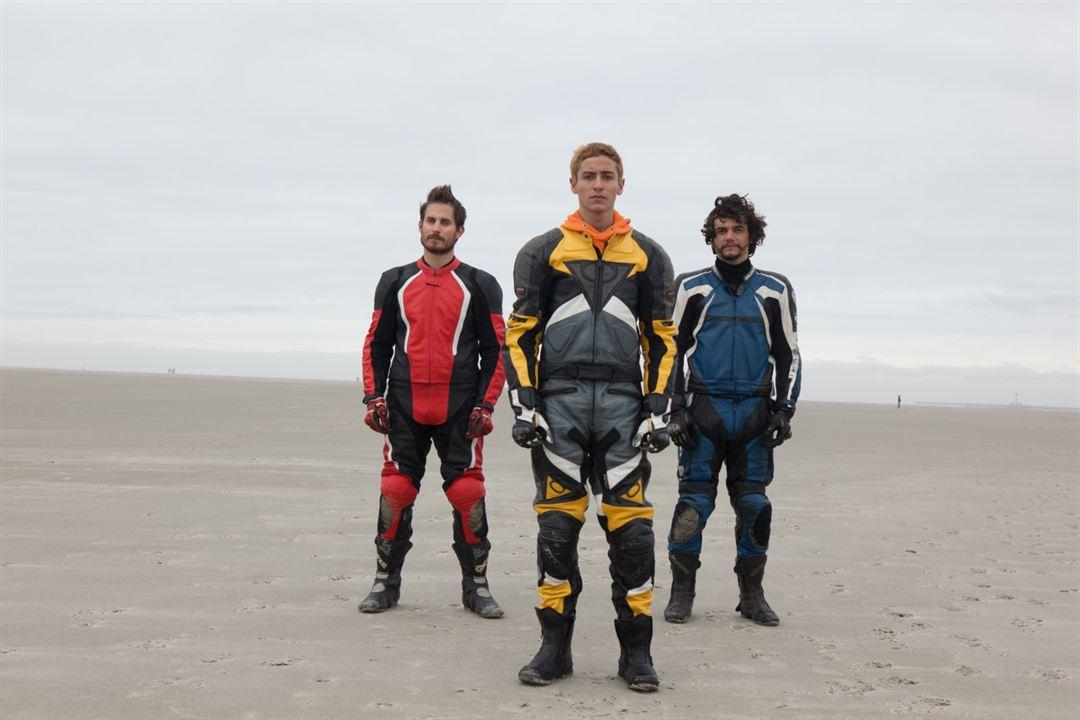 Praia do Futuro: Clemens Schick, Jesuíta Barbosa, Wagner Moura