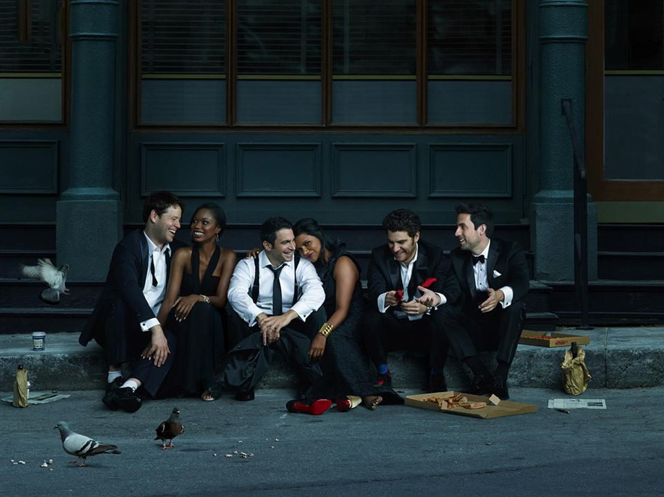 Foto Adam Pally, Beth Grant, Chris Messina, Ed Weeks, Ike Barinholtz