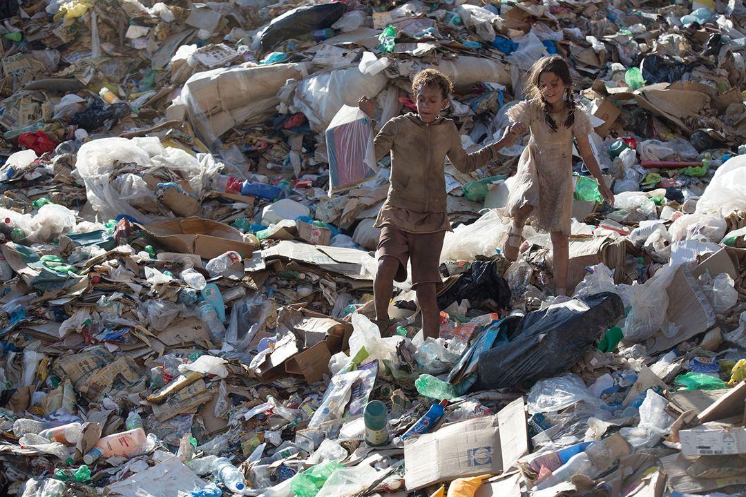 Trash - A Esperança Vem do Lixo : Foto Eduardo Luis