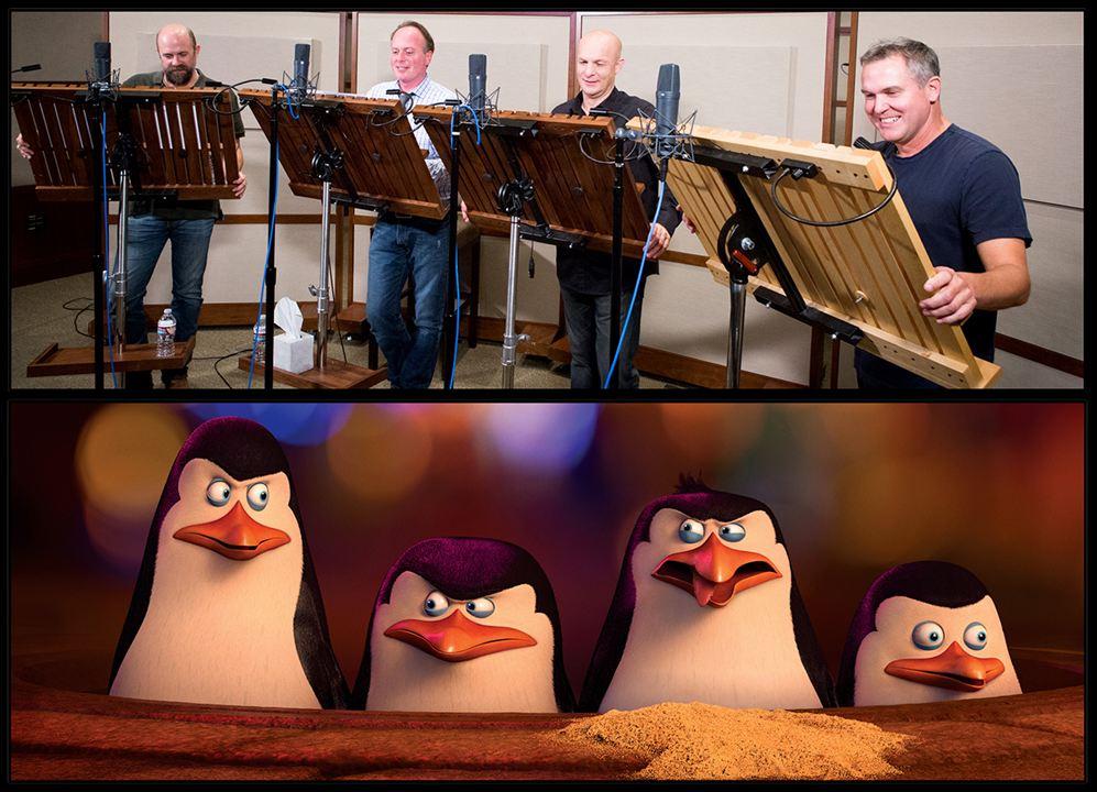 Os Pinguins de Madagascar : Vignette (magazine) Chris Miller (LX), Christopher Knight, Conrad Vernon, Tom McGrath