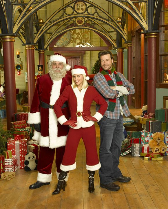 Santa Baby 2: Christmas Maybe : Photo Dean McDermott, Jenny McCarthy, Paul Sorvino