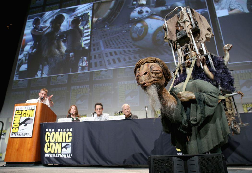 Star Wars: O Despertar da Força : Vignette (magazine) Chris Hardwick, J.J. Abrams, Kathleen Kennedy, Lawrence Kasdan