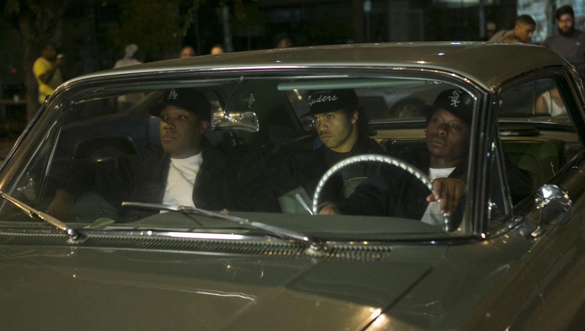 Straight Outta Compton - A História do N.W.A.: Jason Mitchell, Corey Hawkins, O'Shea Jackson Jr.