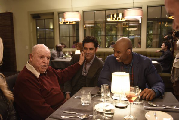Foto Deion Sanders, Don Rickles, John Stamos