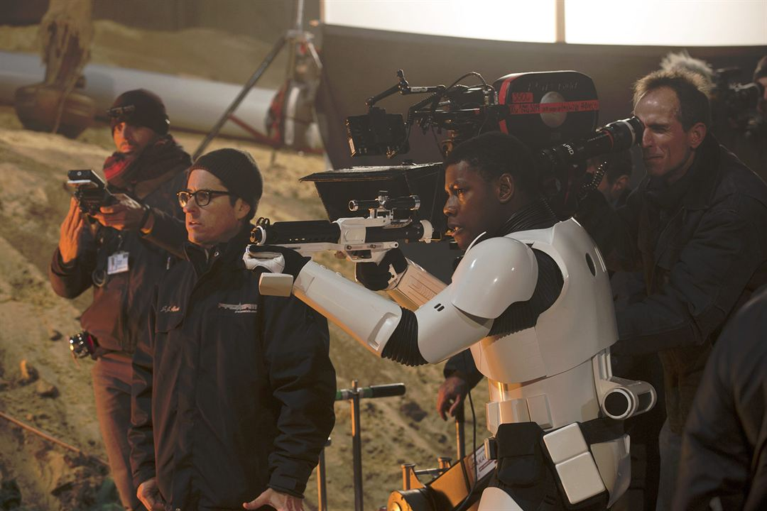 Star Wars: O Despertar da Força : Vignette (magazine) J.J. Abrams, John Boyega