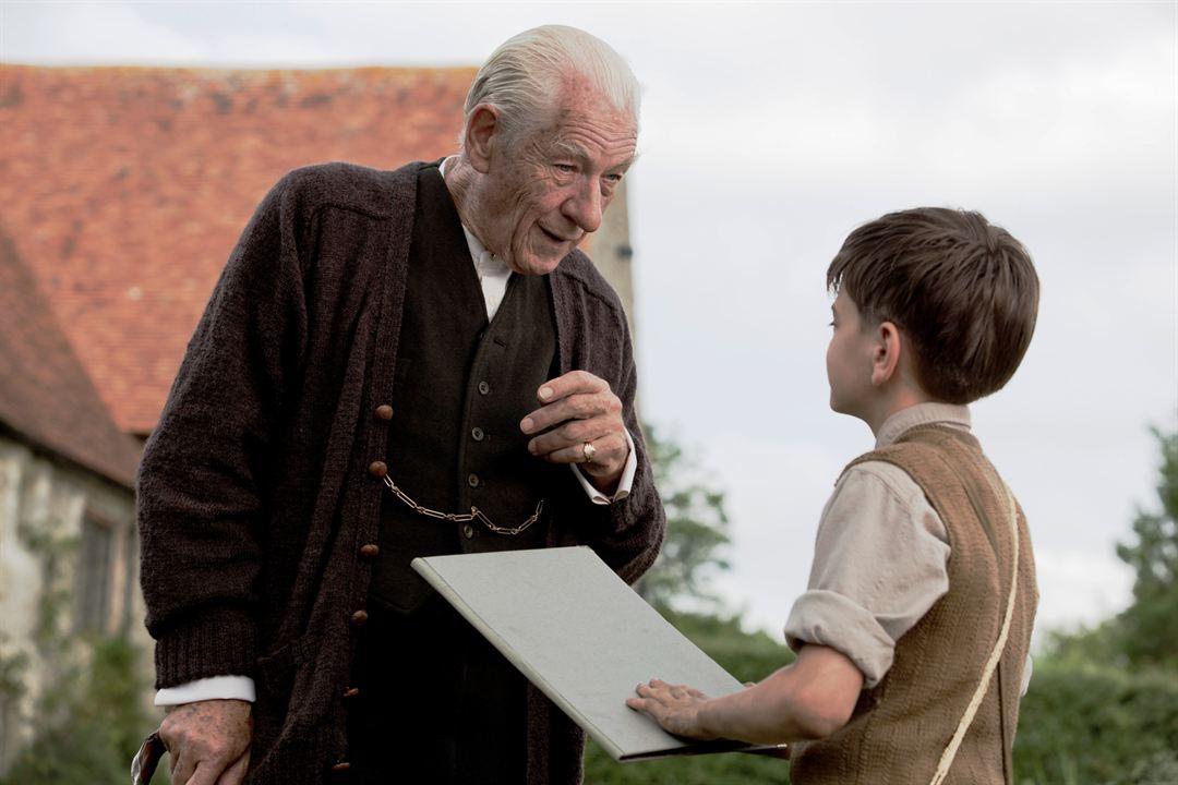 Sr. Sherlock Holmes: Ian McKellen, Milo Parker