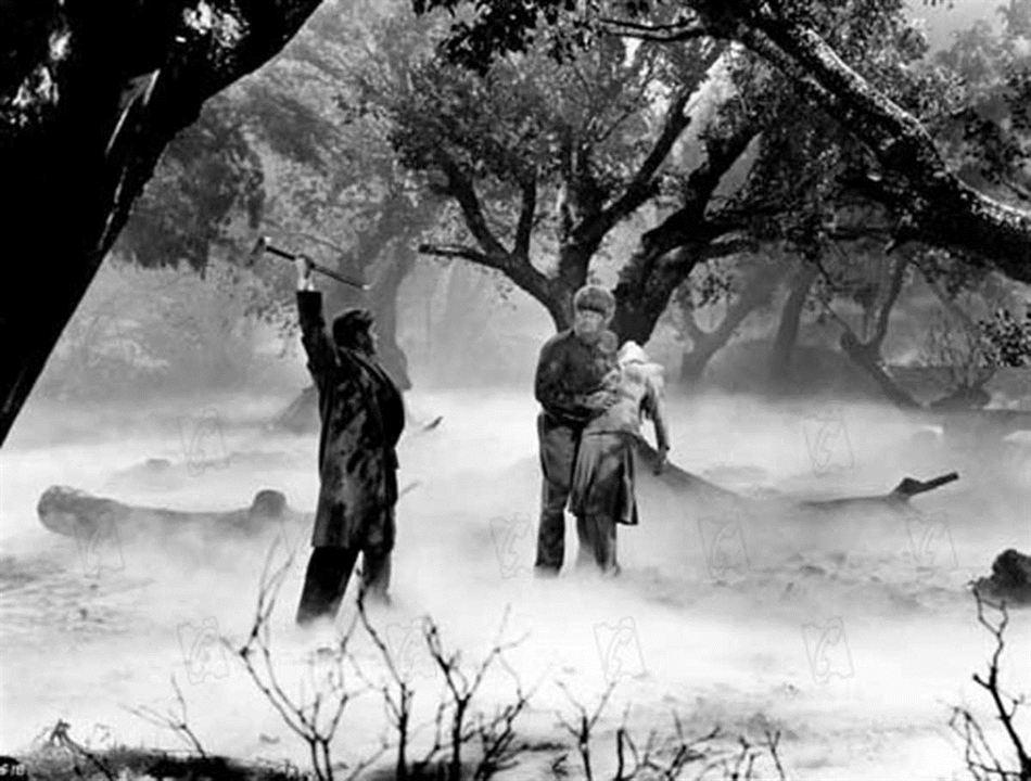 O Lobisomem : Foto Claude Rains, Lon Chaney Jr.