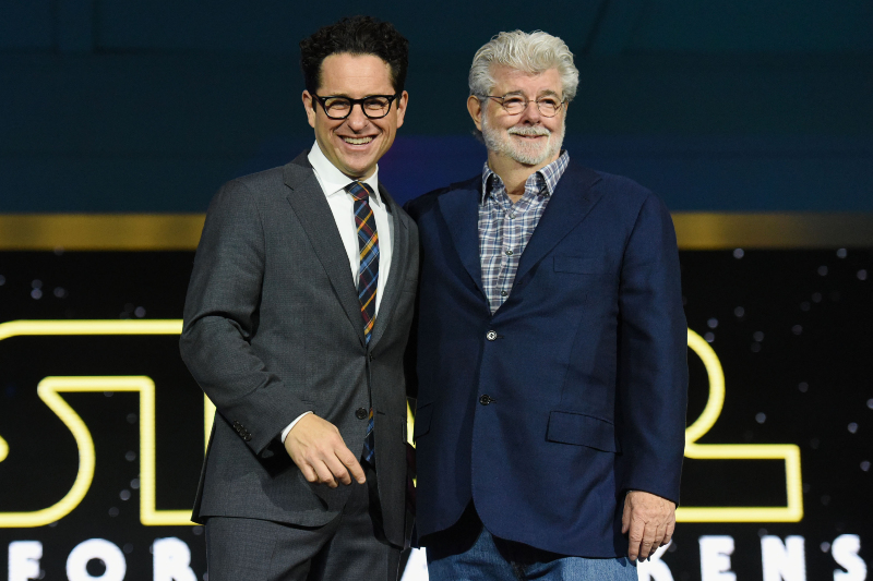 Star Wars: O Despertar da Força : Vignette (magazine) George Lucas, J.J. Abrams