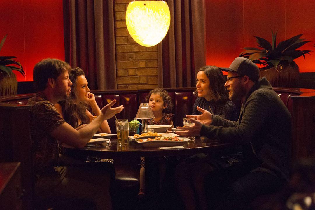 Vizinhos 2 : Foto Carla Gallo, Ike Barinholtz, Rose Byrne, Seth Rogen